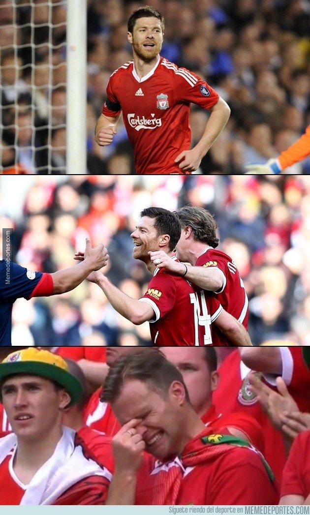 1026784 - Y un día, Xabi Alonso regresó a Anfield