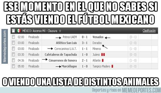 1026798 - En México no se complican con los nombres de sus equipos