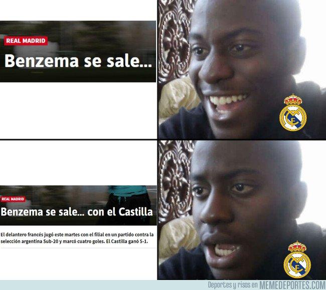 1027083 - Benzema ataca de nuevo...