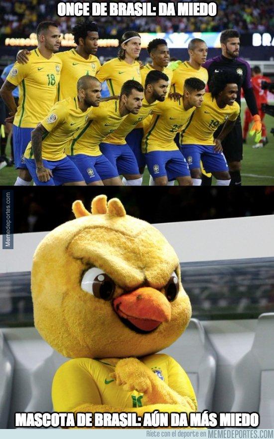 1027132 - La mascota de Brasil es lo más diabólico que se ha visto en mascotas