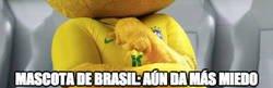 Enlace a La mascota de Brasil es lo más diabólico que se ha visto en mascotas