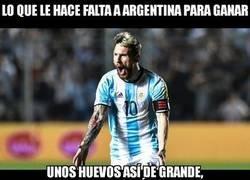 Enlace a A Argentina le falta lo más importante