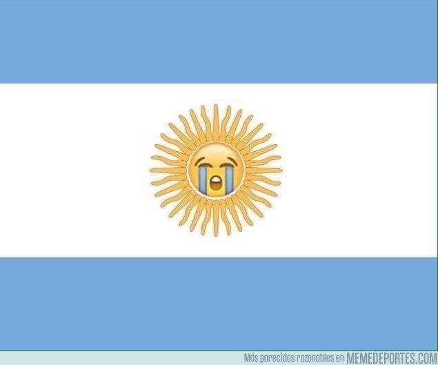 1027167 - La nueva bandera argentina