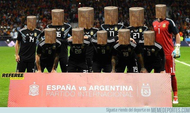 1027266 - El 11 de Argentina sin Messi