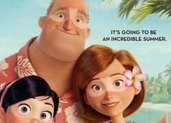 Enlace a Metes a David Meca en el nuevo poster de los Increíbles 2 y pasa desapercibido, por @gazpachoblog