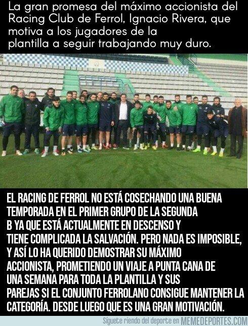 1027311 - La promesa del dueño de Estrella Galicia al Racing de Ferrol