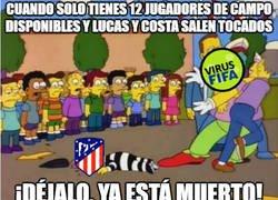 Enlace a El virus FIFA se ha cebado con el Atlético