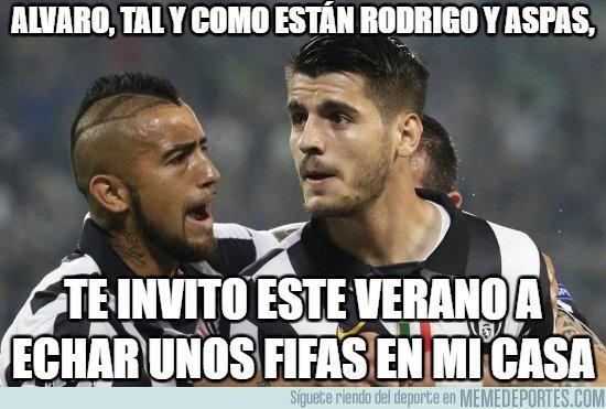 1027345 - Vidal tiene un plan para Morata