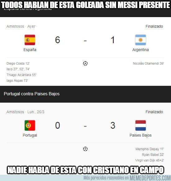 1027357 - Mucho hablar de Argentina sin Messi, ¿pero y de Portugal con Cristiano?