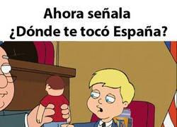 Enlace a ¿Dónde te tocó España?