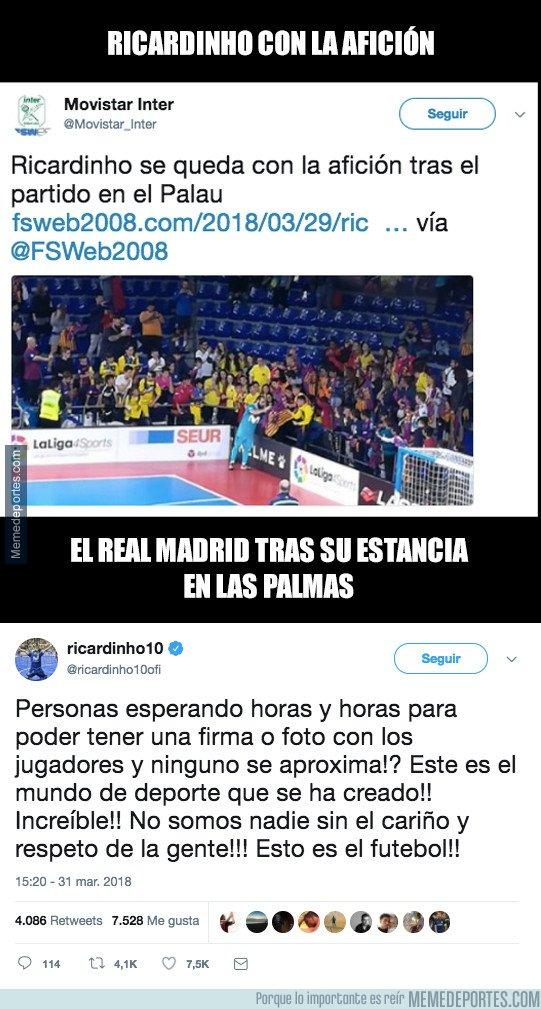 1027697 - La indignación de Ricardinho con el Real Madrid por su feo gesto en Las Palmas