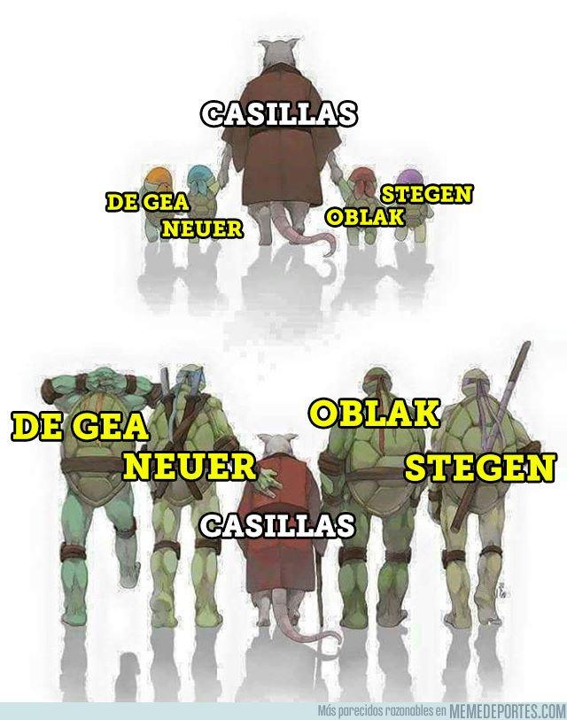1027864 - Casillas, 1000 partidos como profesional