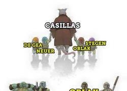 Enlace a Casillas, 1000 partidos como profesional