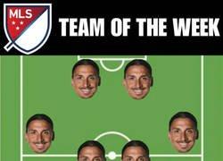 Enlace a Equipo de la semana en la MLS
