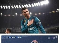 Enlace a Las exageradísimas (y justificadas) reacciones a la descomunal chilena de Cristiano Ronaldo