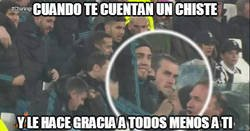 Enlace a La cara de Bale es de felicidad extrema