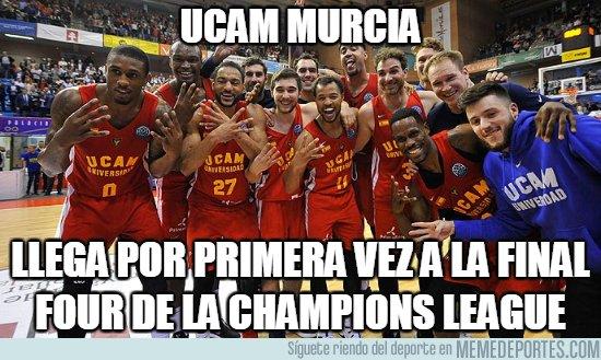 1028385 - UCAM Murcia a la Final Four