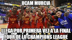 Enlace a UCAM Murcia a la Final Four