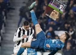 Enlace a Lo que hizo Cristiano con todos los memes que se reían de sus chilenas