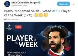 Enlace a El jugador de la semana en la Champions
