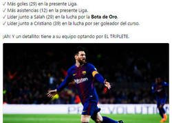 Enlace a ¡Messi está a tope!