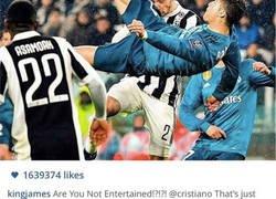 Enlace a La respuesta de CR7 en Instagram al mensaje de Lebron James tras su chilena