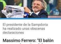 Enlace a Vaya personaje tiene la Sampdoria como presidente