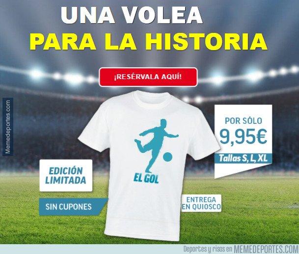 1028868 - Marca ya sacó la camiseta del nuevo gol de cristiano