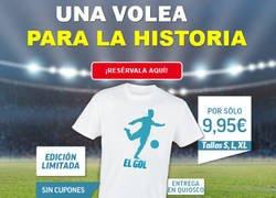 Enlace a Marca ya sacó la camiseta del nuevo gol de cristiano