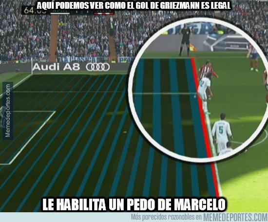 1028897 - El Atlético marca gol en posición dudosa