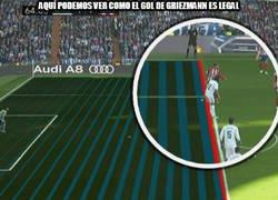 Enlace a El Atlético marca gol en posición dudosa