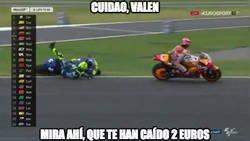 Enlace a Rossi por el suelo
