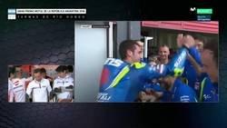 Enlace a Márquez fue al box de Rossi a pedirle disculpas y pasa esto