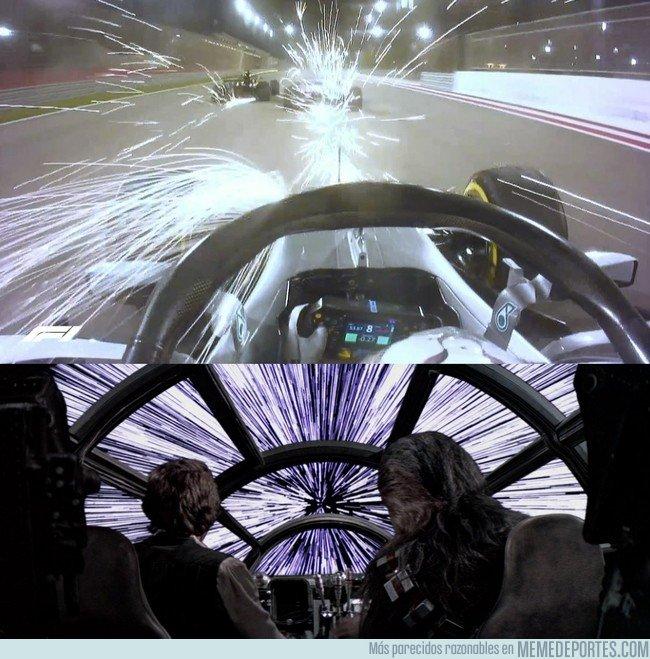 1028993 - ¿F1 o Star Wars?