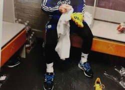 Enlace a En el vestuario del United hay una foto de Messi y el motivo se lo ha ganado a pulso