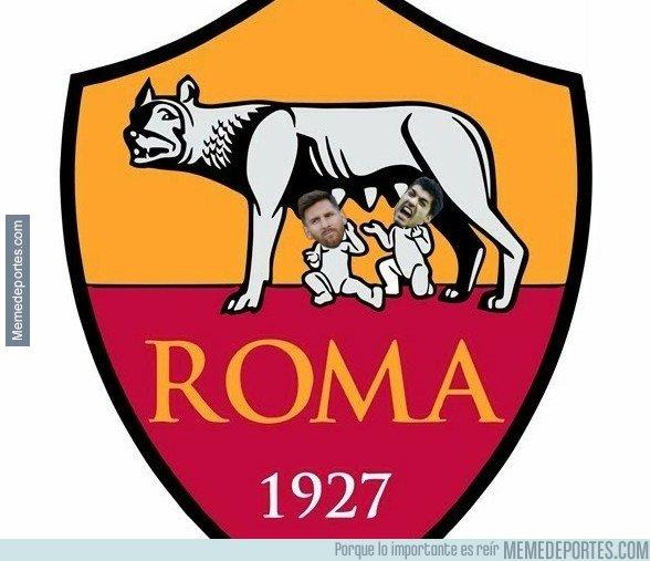 1029207 - La Roma se suma a la moda de cambiar el escudo
