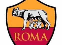 Enlace a La Roma se suma a la moda de cambiar el escudo