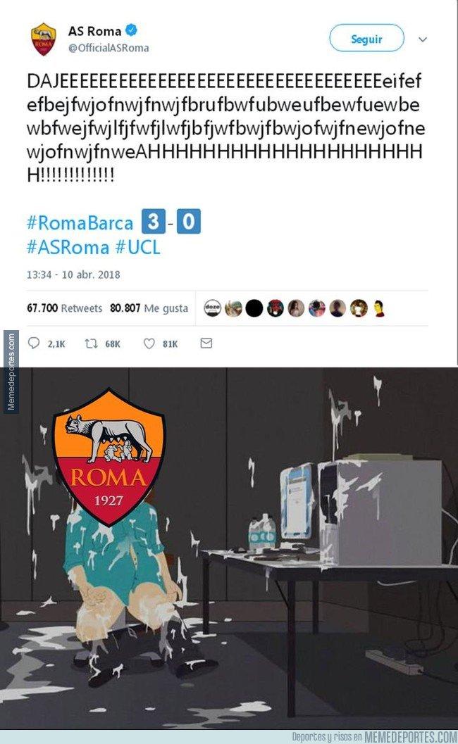 1029252 - Así nos imaginamos al CM de la Roma en Twitter