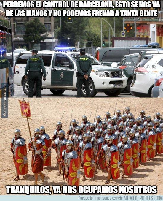 1029288 - Llegan refuerzos a Barcelona