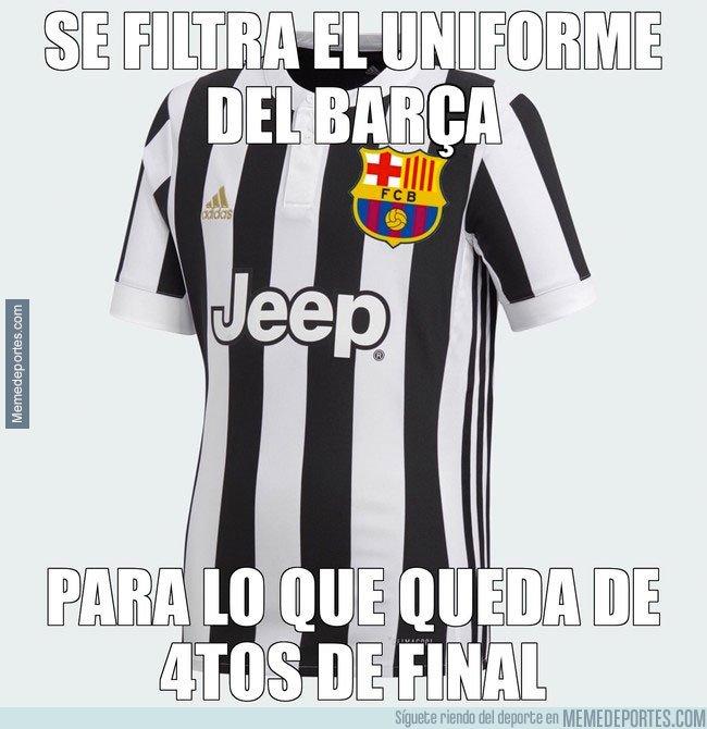 1029320 - Nuevo uniforme del Barça para este miércoles