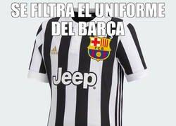 Enlace a Nuevo uniforme del Barça para este miércoles