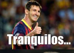 Enlace a Messi tiene todo planeado