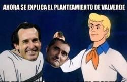 Enlace a Valverde marcándose un Emery dejandose remontar