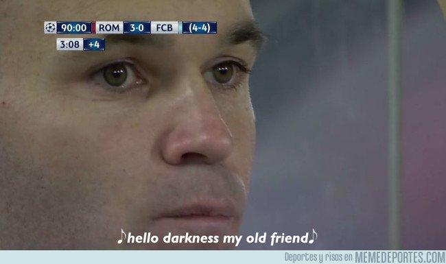 1029424 - Cruel desenlace para Iniesta...