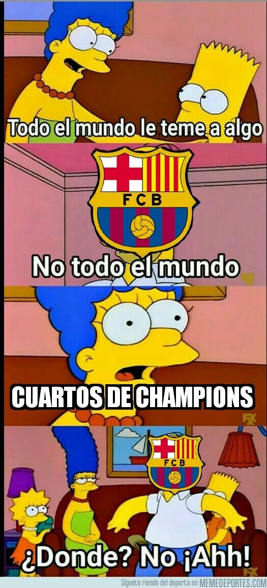 1029637 - Los cuartos empiezan a ser la pesadilla del Barça