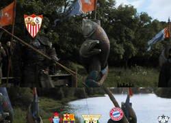 Enlace a El Sevilla tirando a puerta