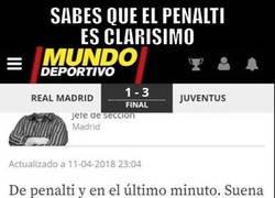 Enlace a Si hasta MD reconoce el penalti...