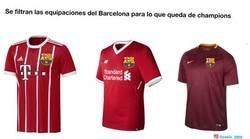 Enlace a Se filtran las próximas equipaciones del Barcelona en Champions