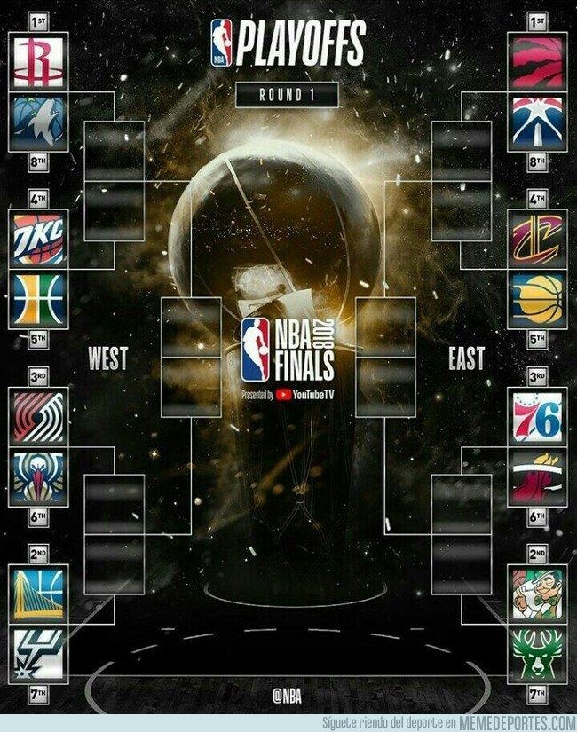 1030254 - Así están los Playoff NBA 2017-18. ¿Predicciones?