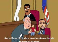Enlace a Benatia en la corte